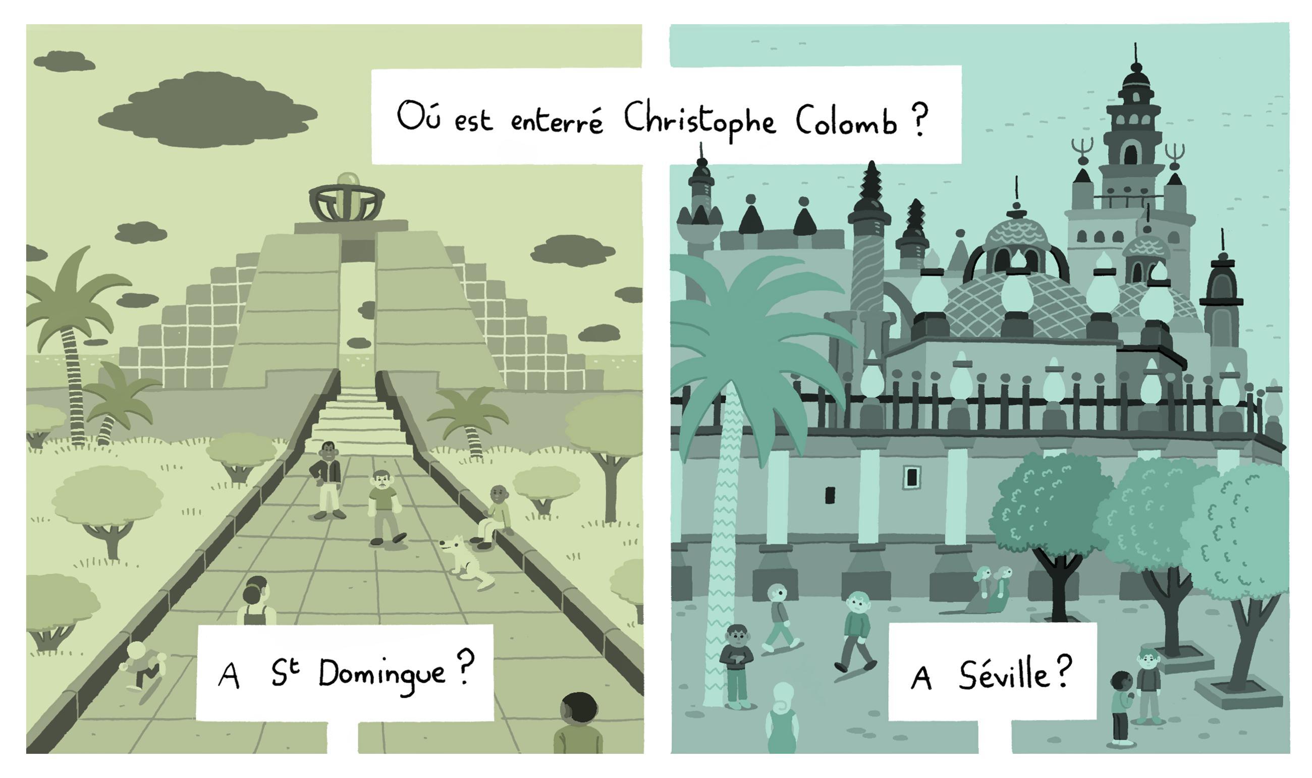 Christophe Colomb – raconte-moi